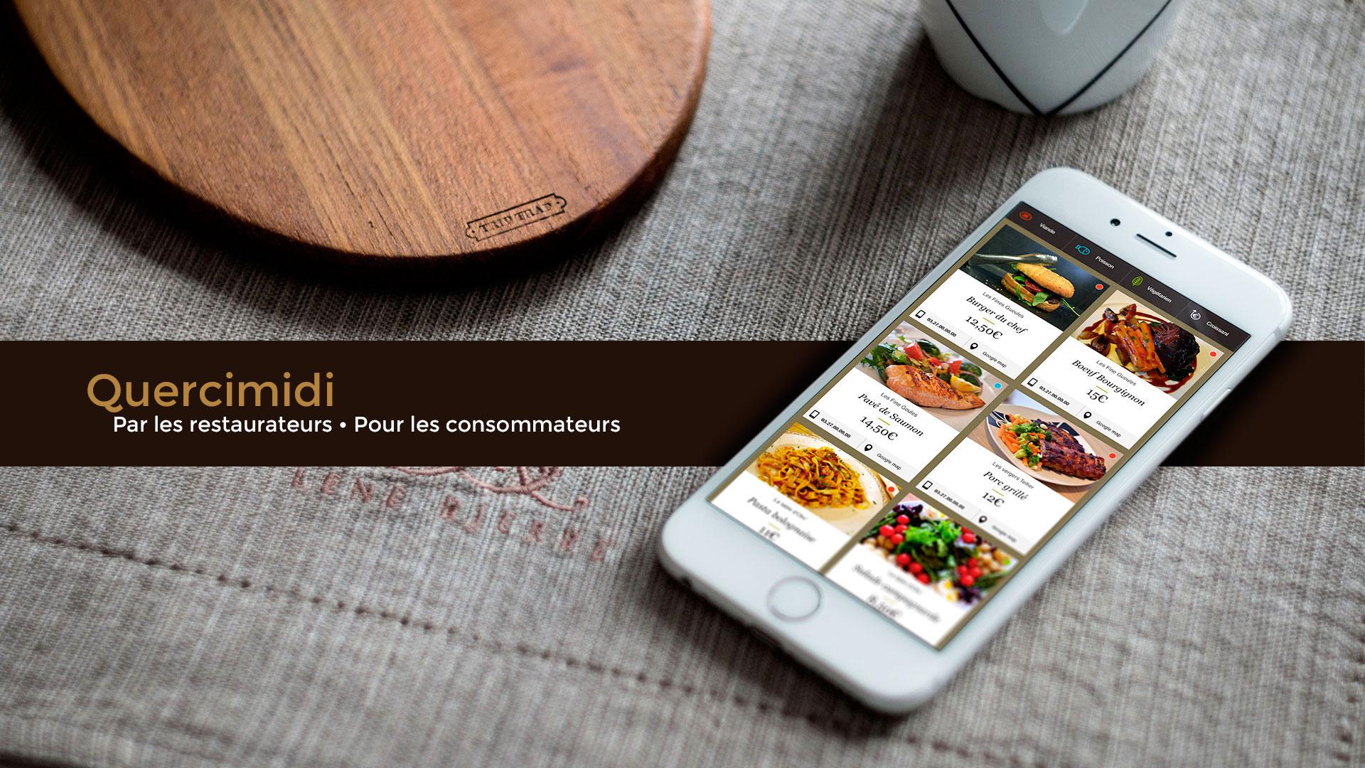 Projet de mini site web QUERCIMIDI : qu'allez-vous manger ce midi ?