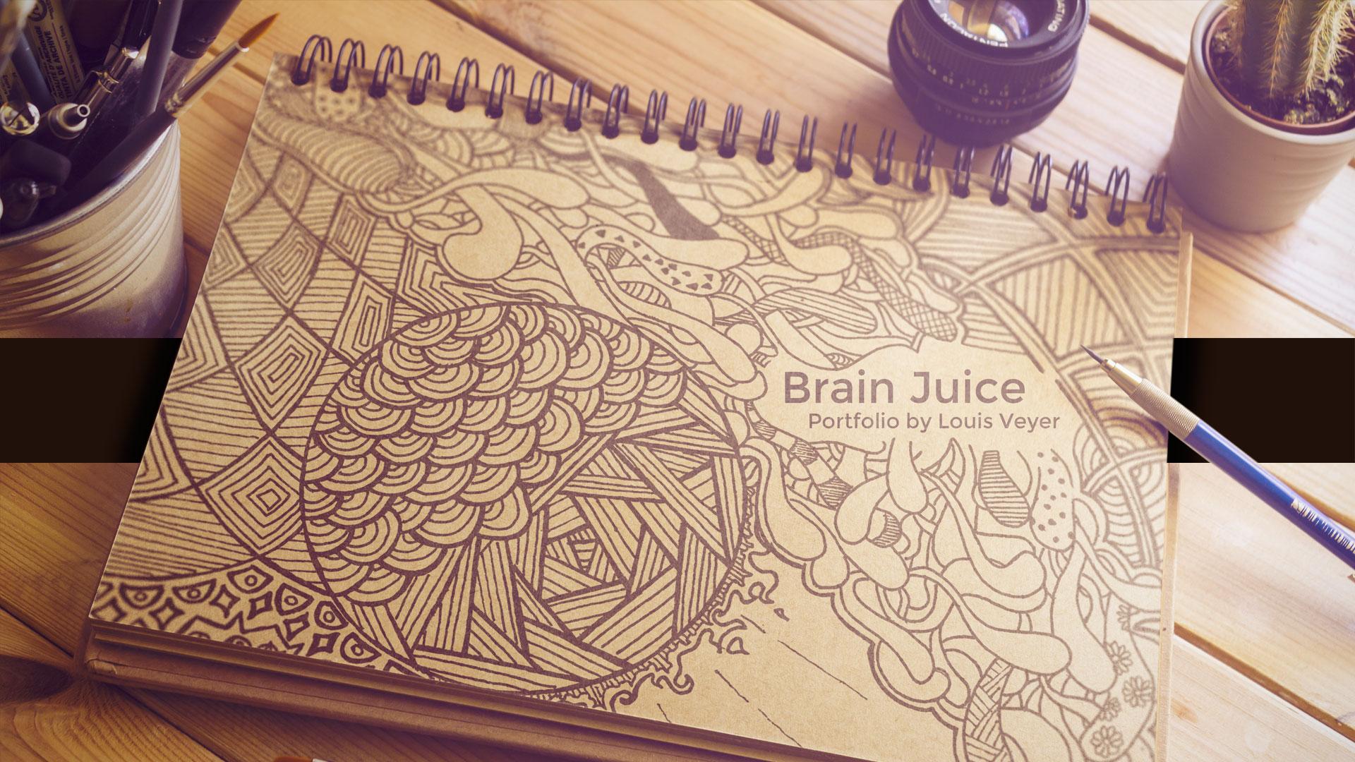Brain Juice - Expérience web interactive et décallée