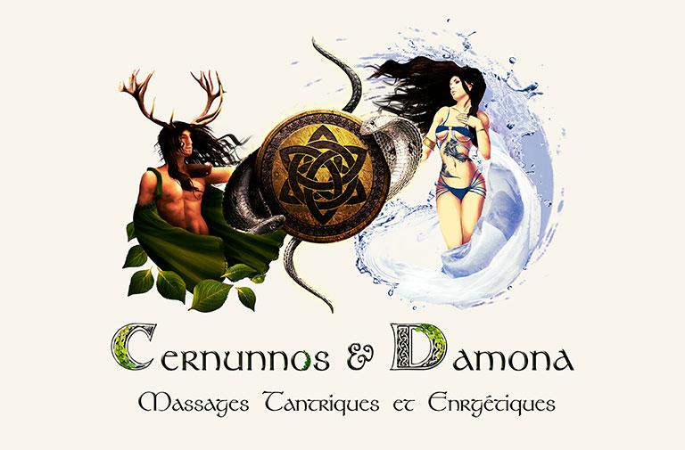 Logo Cernunnos & Damona