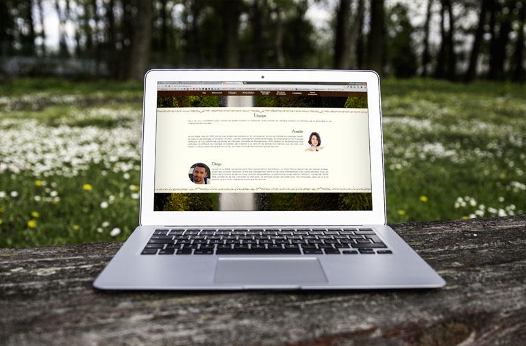Site web Cernunnos & Damona