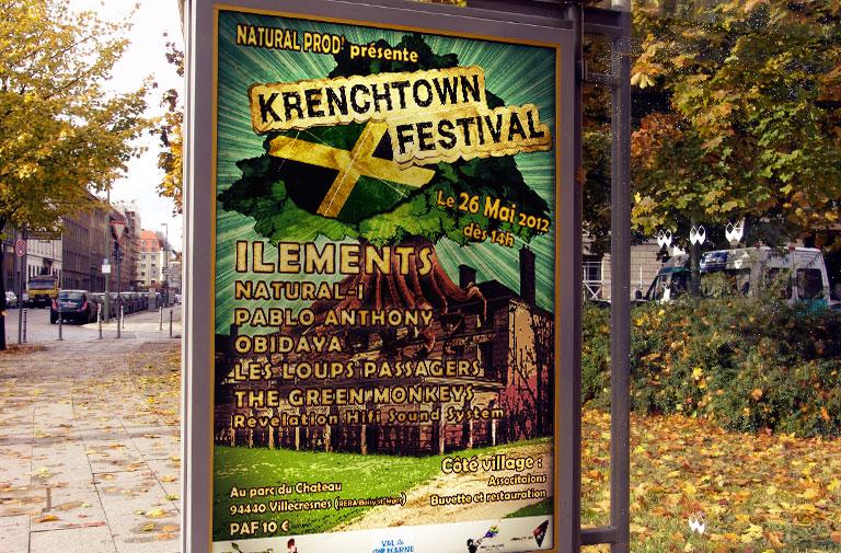 Affiche Krenchtown Festival 2012