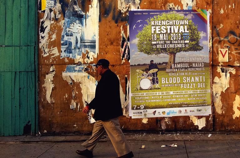 Affiche Krenchtown Festival 2013