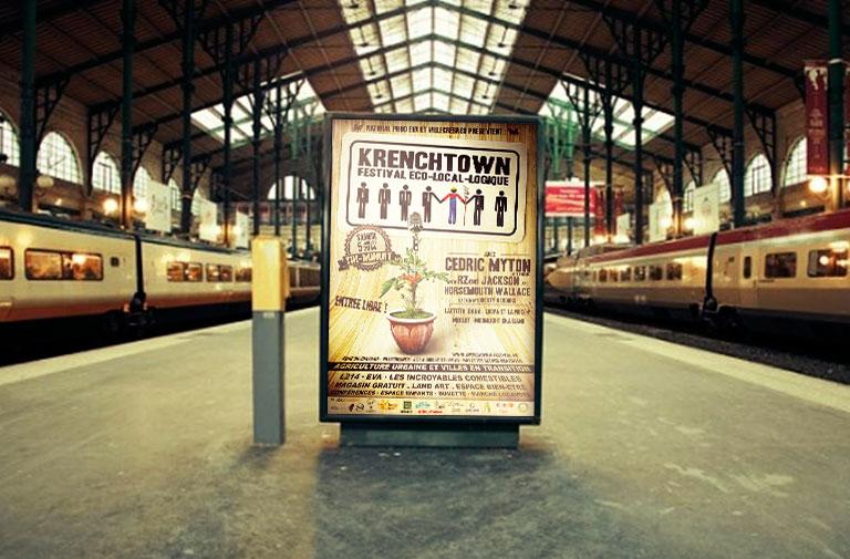 Affiche Krenchtown Festival 2014