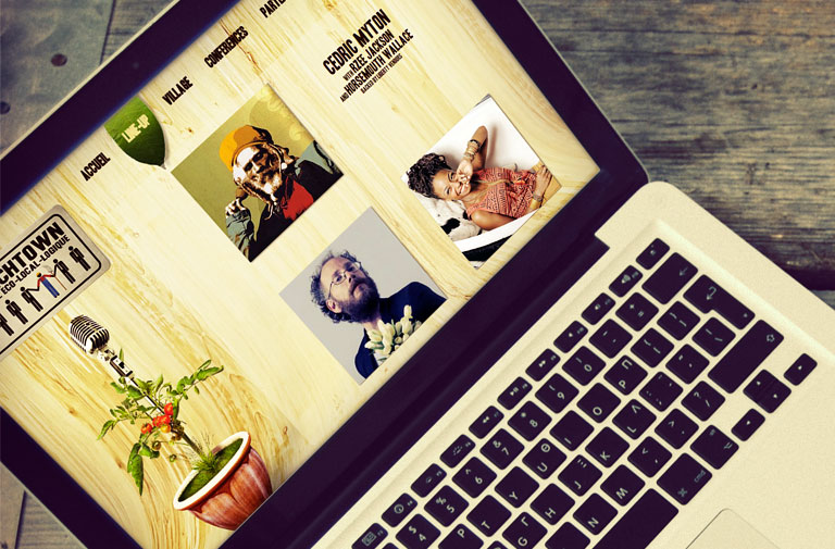 Site Web Krenchtown Festival 2014