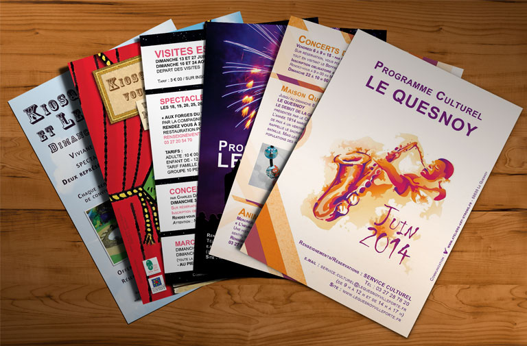 Flyer Ville de LE QUESNOY