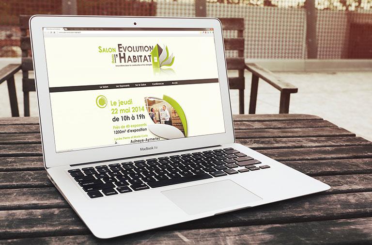 Site web du salon de l'évolution dans l'habitat