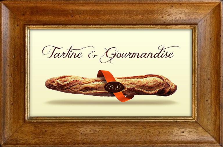 Logo Tartine et gourmandise