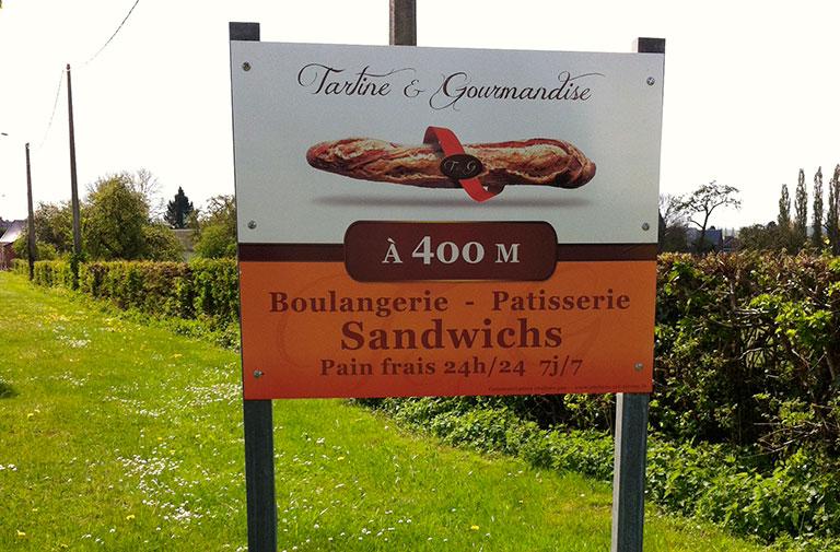 Panneau Tartine et gourmandise