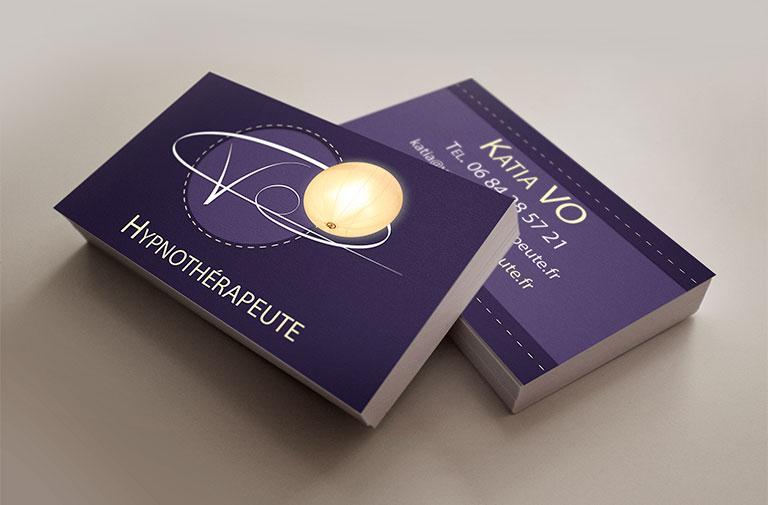 Carte de visite Vo Hypnothérapeute